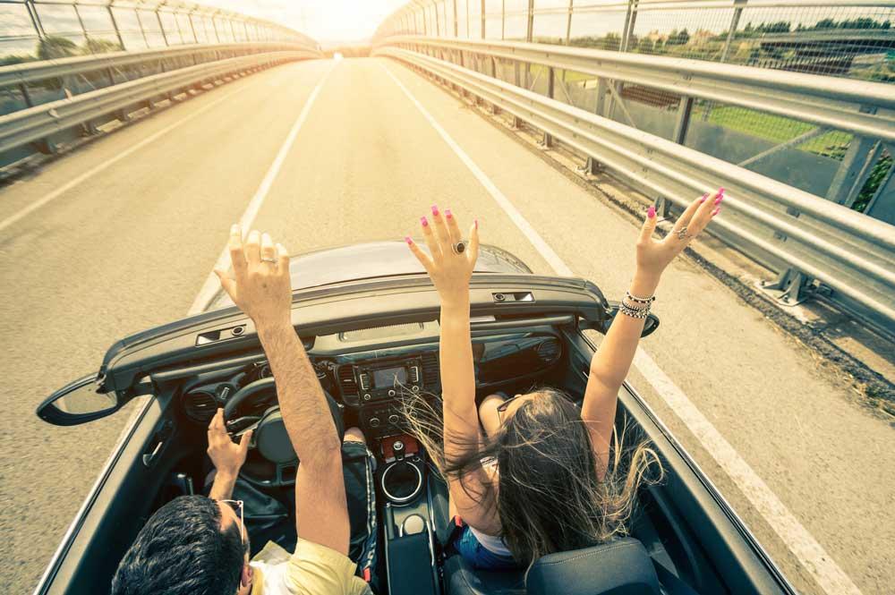 Kursanci z Pisza zdający prawo jazdy