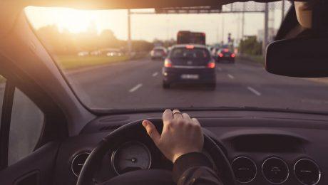Kierowca po badaniach psychotechnicznych