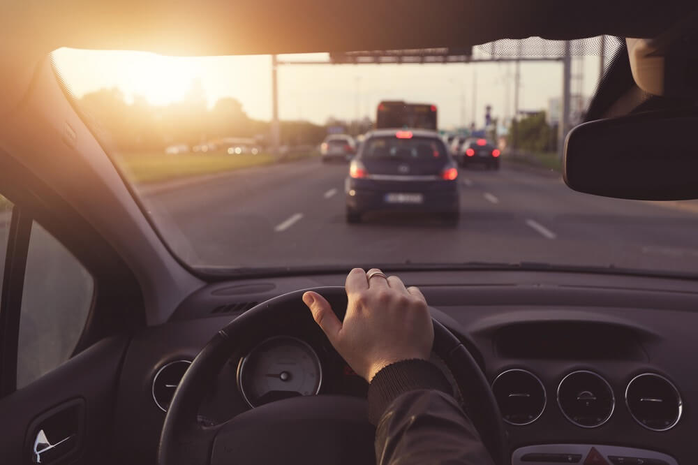 Kierowca po badaniach psychotechnicznych Białystok